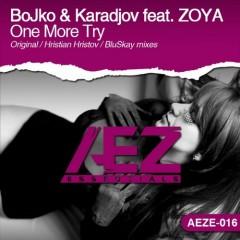 Bojko And Karadjov Feat. Zoya - One More Try (original Mix) on Revolution Radio