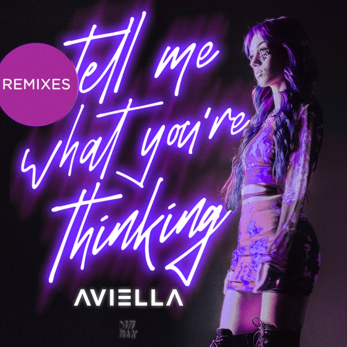 Aviella - Tell Me What 're Thinking (lipless Extended Remix) on Revolution Radio