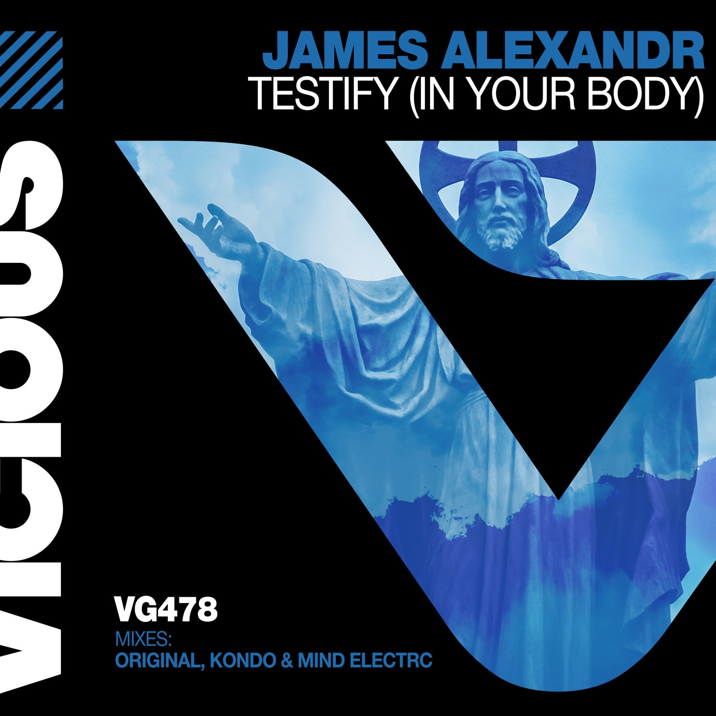 James Alexandr - Testify (in My Body) (original Mix) on Revolution Radio