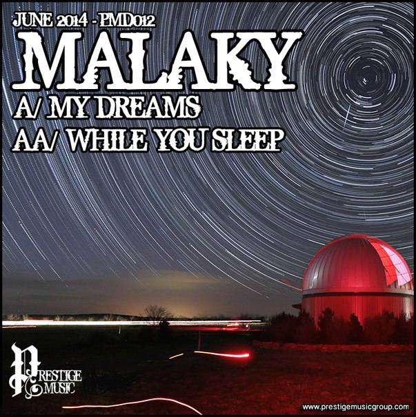 Malaky - My Dreams on Revolution Radio
