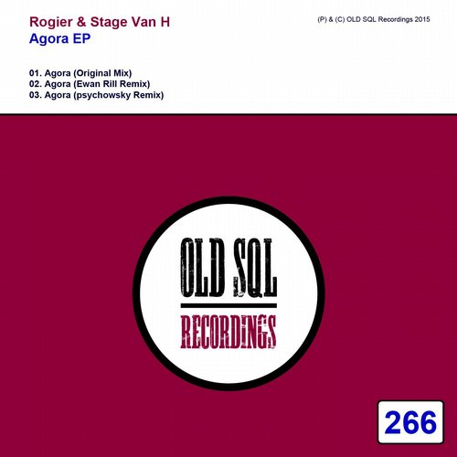 Rogier And Stage Van H - Agora (original Mix) on Revolution Radio