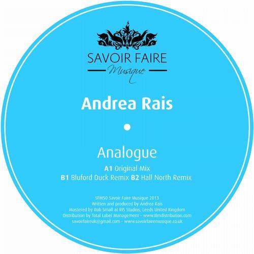 Andrea Rais – Analogue (Original Mix) on Revolution Radio