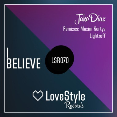 Jako Diaz - I Believe (maxim Kurtys Remix) on Revolution Radio