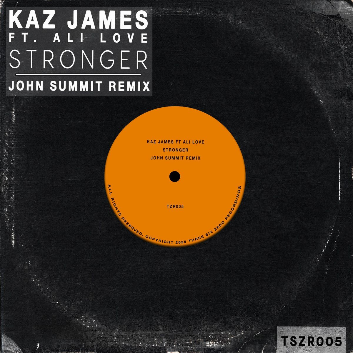 Kaz James Feat. Ali Love - Stronger (john Summit Extended Remix) on Revolution Radio