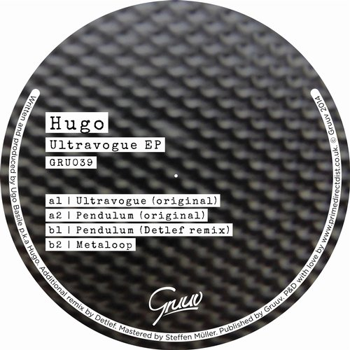 Hugo - Ultravogue (original Mix) on Revolution Radio