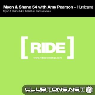 Myon And Shane 54, Amy Pearson - Hurricane (myon And Shane In Search Of Sunrise Mix) on Revolution Radio