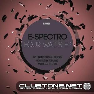 E - Spectro - Four Walls (original Mix) on Revolution Radio
