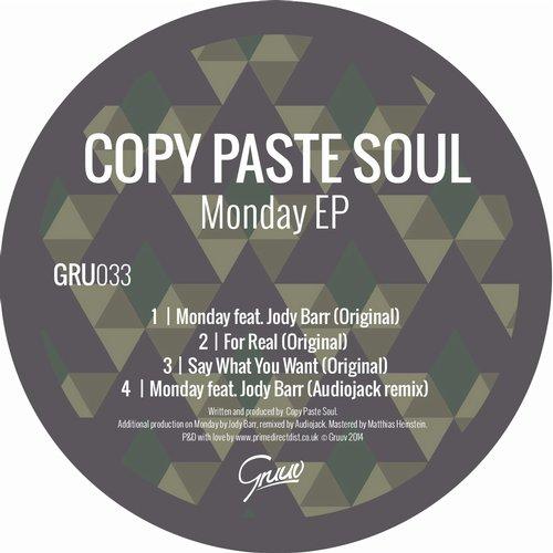 Copy Paste Soul - Monday Feat. Jody Barr (audiojack Remix) on Revolution Radio