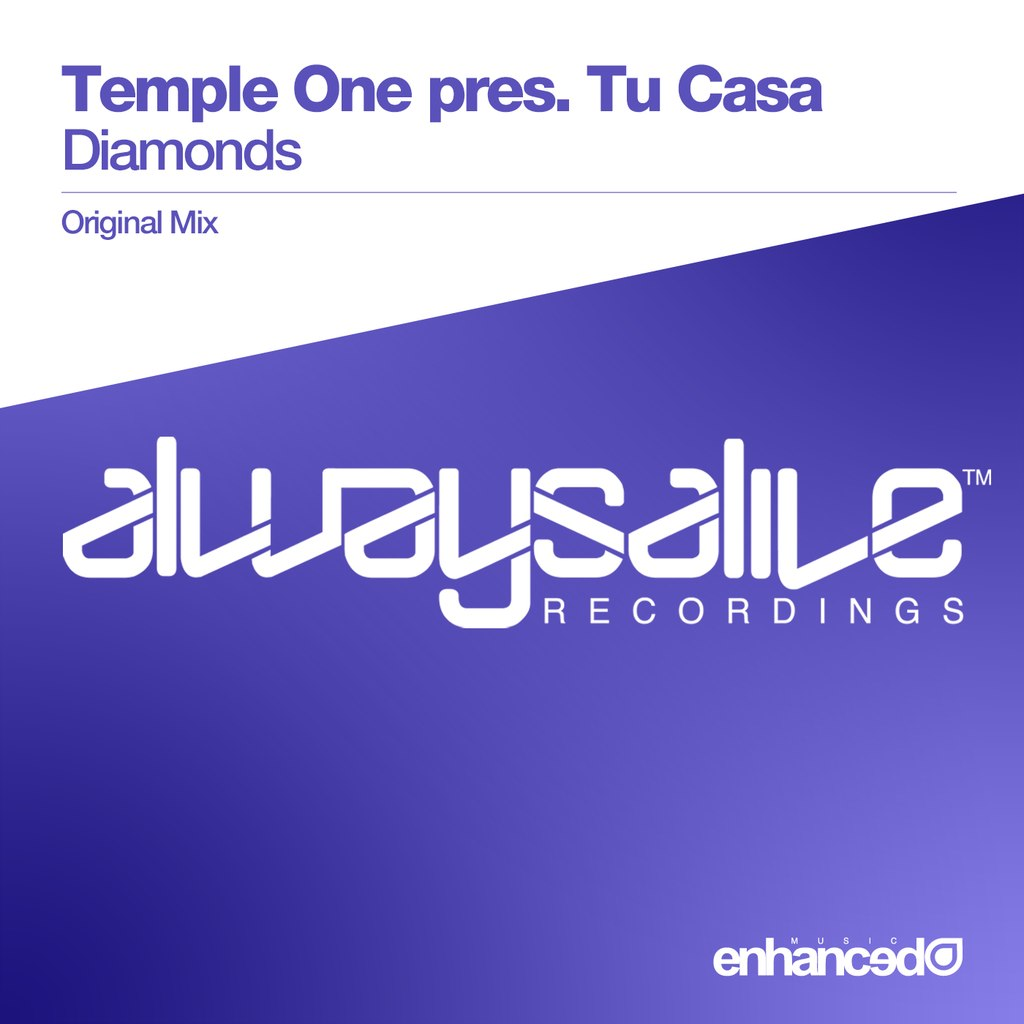 Temple One Pres. Tu Casa – Diamonds (original Mix) on Revolution Radio