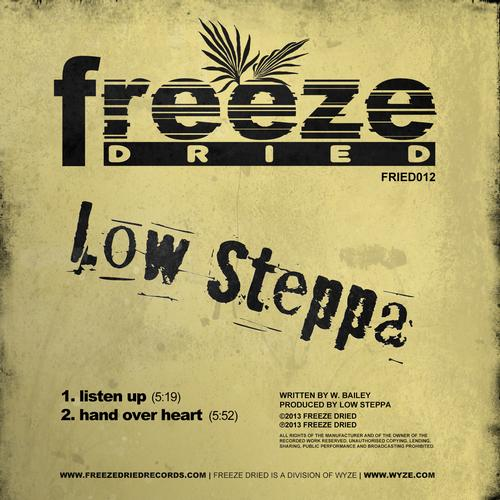 Low Steppa - Hand Over Heart (original Mix) on Revolution Radio