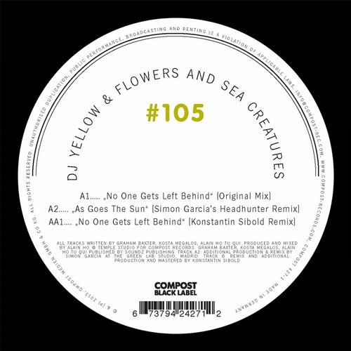 Dj Yellow, Flowers And Sea Creatures - No One Gets Left Behind (original Mix) on Revolution Radio