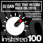 Dj Dan - Put Tht Record Back On (dj Dan 2013 Mix) on Revolution Radio
