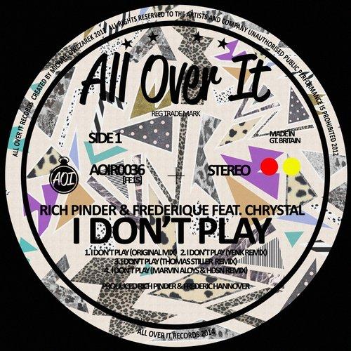 Rich Pinder, Frederique, Chrystal - I Don't Play (original Mix) on Revolution Radio