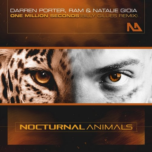 Darren Porter, Ram And Natalie Gioia - One Million Seconds (billy Gillies Remix) on Revolution Radio