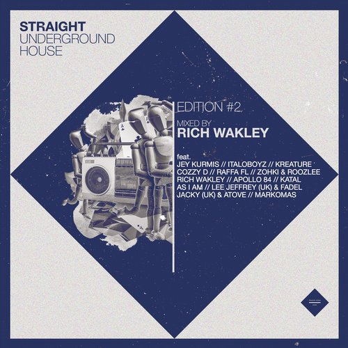 Rich Wakley - Street Knowledge (original Mix) on Revolution Radio