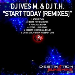 Dj Ives M And Dj T.h. - Start Today (pimanda Remix) on Revolution Radio