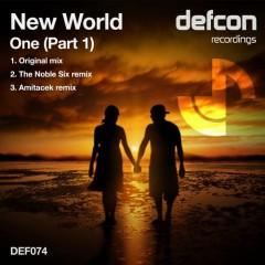 New World-one (original Mix) on Revolution Radio