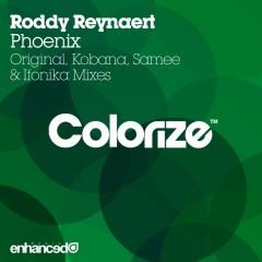 Roddy Reynaert - Phoenix (original Mix) on Revolution Radio