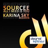 Sourcee Feat. Karina Sky  - All I Need Is  (rezarin Remix) on Revolution Radio
